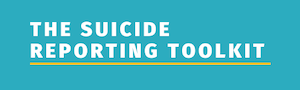 The Suicide Reporting Toolkit Logo